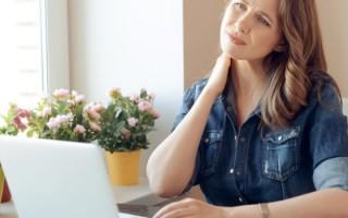 Обострение шейного остеохондроза: лечение в домашних условиях
