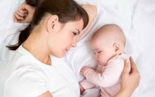 Как решается проблема нарушения сна у грудного ребенка