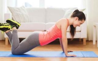 Полезные упражнения ЛФК при остеохондрозе поясничного отдела