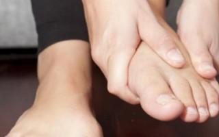 Почему начинают неметь пальцы на ногах