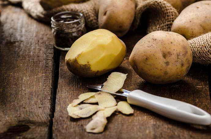 Кожура картофеля для чистки сосудов головного мозга