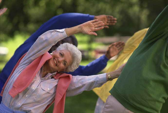 гимнастики при болезни Паркинсона