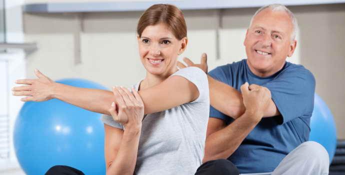 ЛФК при рассеянном склерозе: правила проведения и основной комплекс упражнений