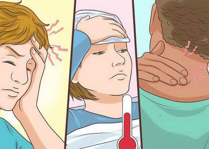 симптоматика менингита
