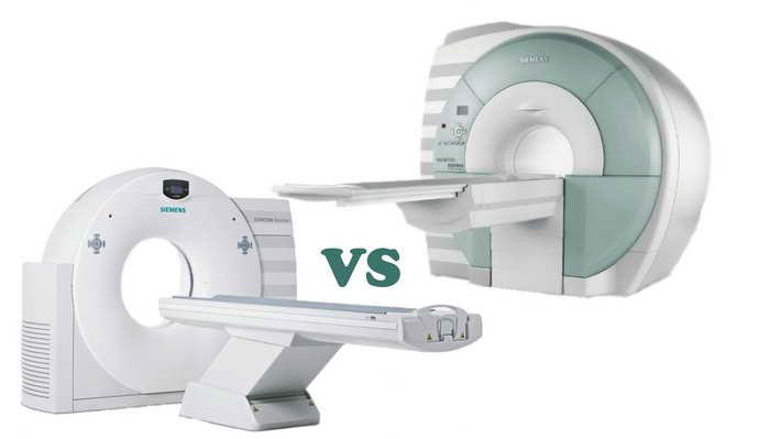 Сравнение МСКТ с МРТ и КТ