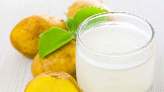Картофельный сок от мигрени