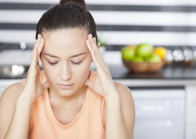 мигрень из-за аллергии на еду