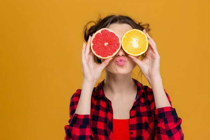 Цитрусовые фрукты и мигрень