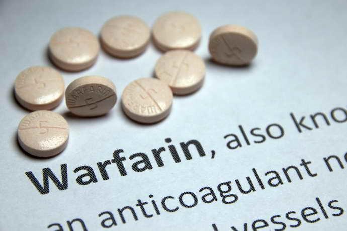 Варфарин от спазма головного мозга