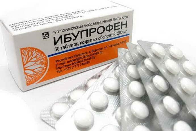 Ибупрофен от мигрени