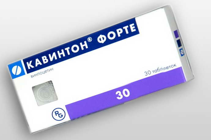 Кавинтон таблетки от внутричерепного давления