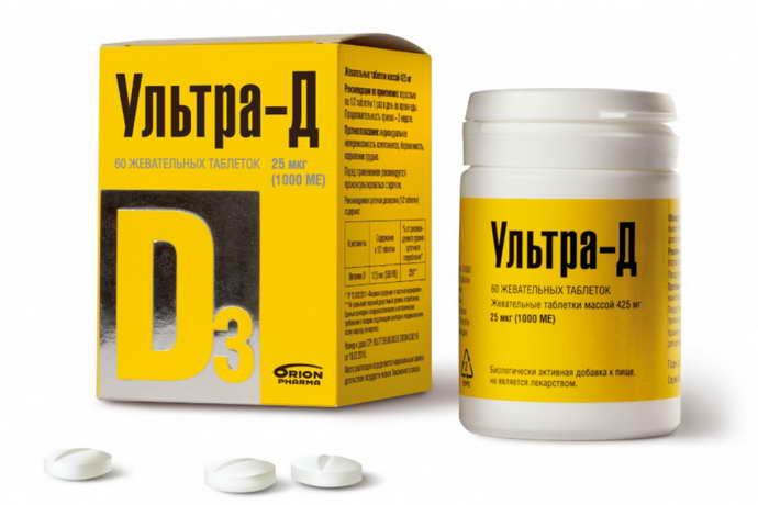 витамин д3 и рассеянный склероз