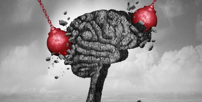 Диффузное аксональное повреждение головного мозга: симптомы, лечение