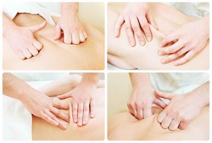остеохондроз шейного отдела массаж
