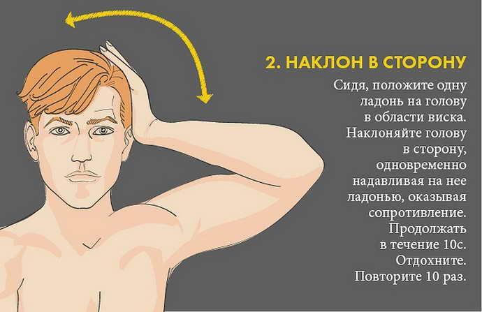шейный остеохондроз лечение в домашних условиях упражнениями