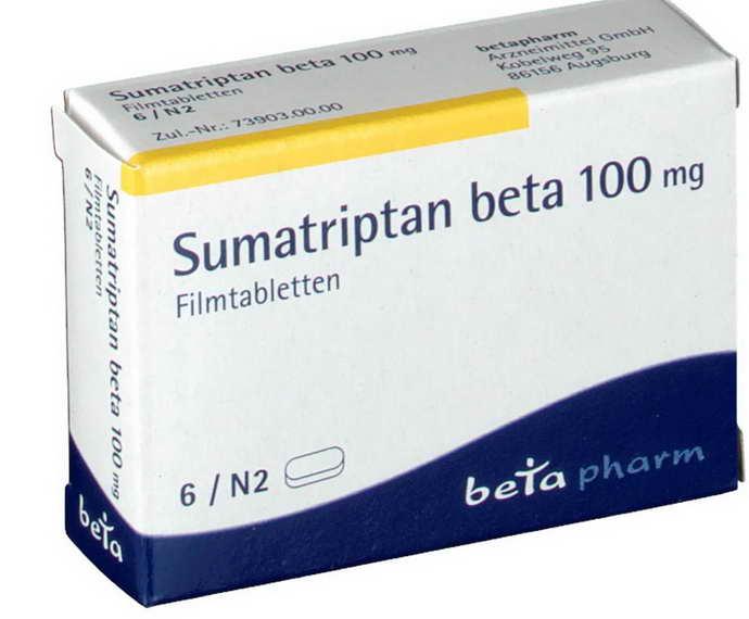 Суматриптан от мигрени