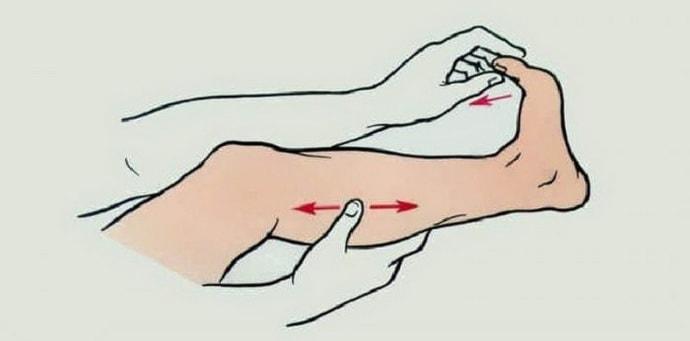Как действовать, если судороги свели ногу