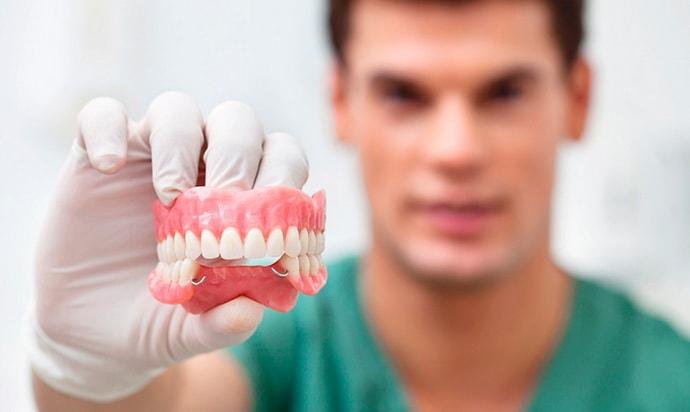 Протезирование зубов при старческой астении