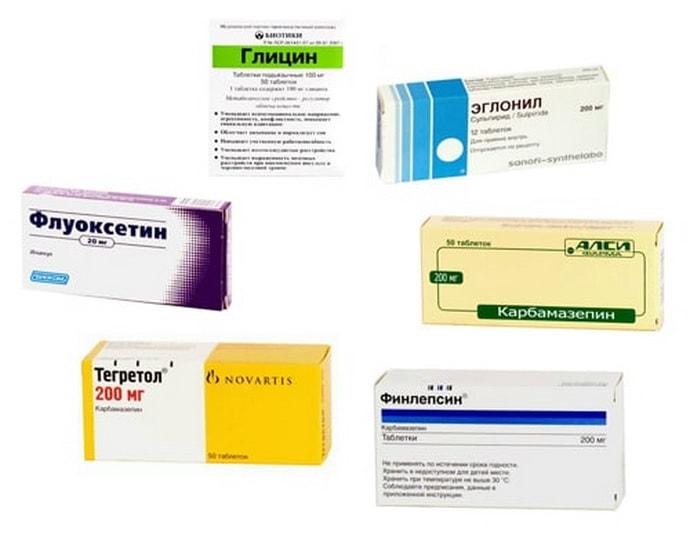 Противосудорожные медикаменты