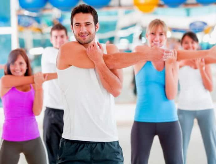 Разминка при выполнении упражнений