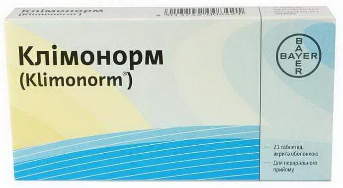 Климонорм при климоксе