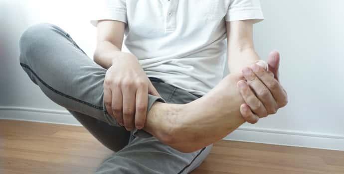 Полинейропатия нижних конечностей сенсорная форма