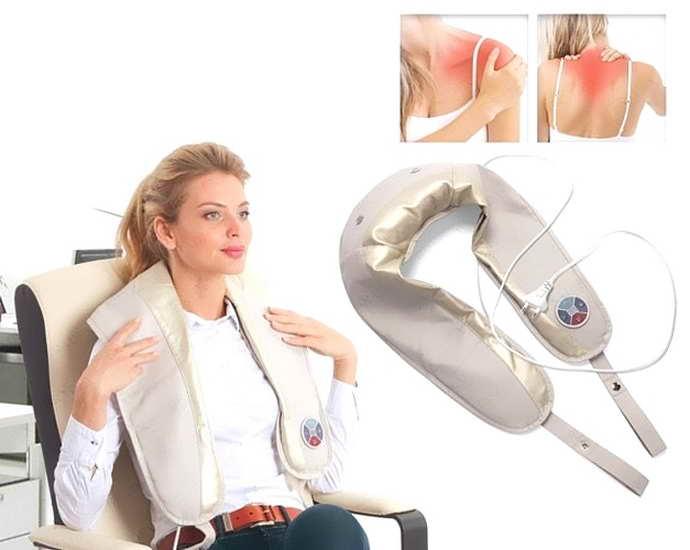 как работает электромассажер для шеи и плеч при остеохондрозе