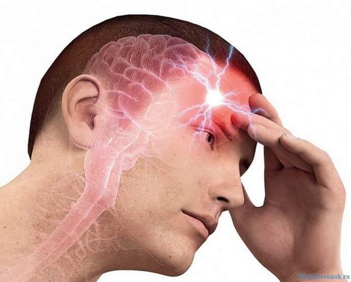 Что делать если возникла  головная боль при всд