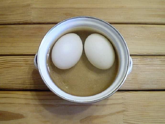 Вареные яйца при воспалении нерва