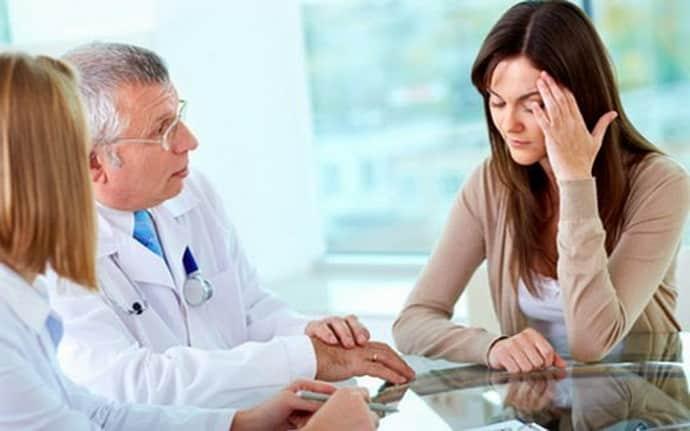 Консультация у врача при протрузии