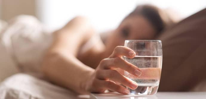 Сколько пить воды при всд