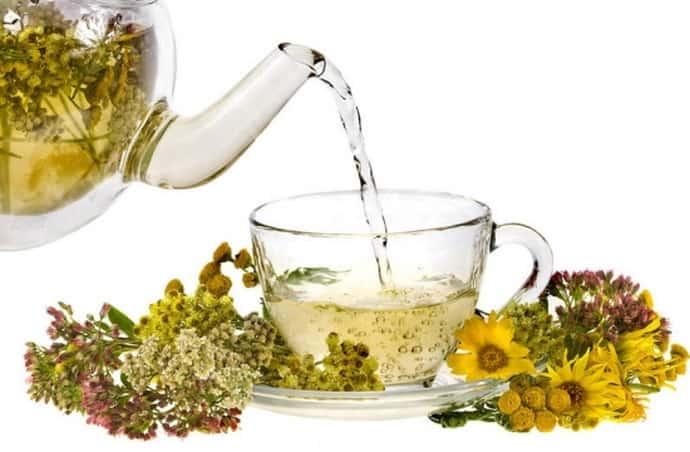 Травяной чай при болях в ногах