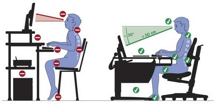 немеет левая рука от долгого сидения за компьютером