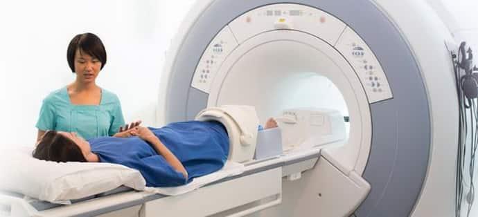 МРТ при немеющем затылке