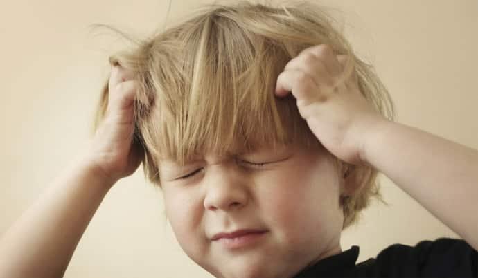 Как предотвратить нервный тик у ребенка