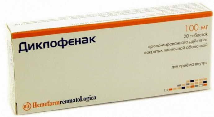 Диклофенак и остеохондроз
