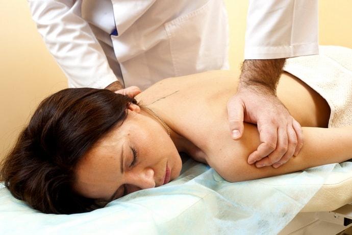Массаж при невралгии спины