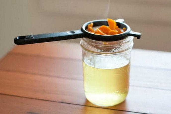 Как приготовит отвар из корок апельсин