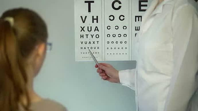 Обследования у окулиста при офтальмоплегии
