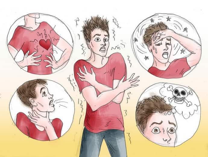 Симптомы панических атак у подростков