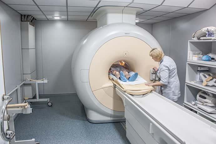 МРТ при параличе белла