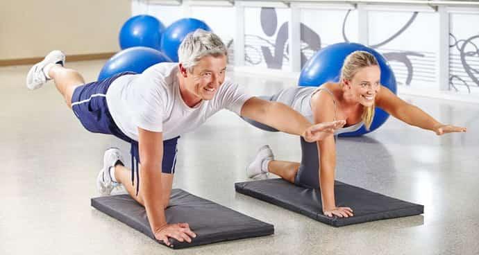 Упражнения при парезе