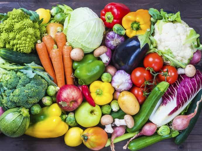 Овощи при всд