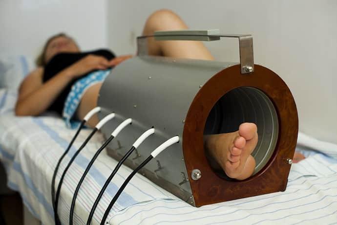 Физиопроцедуры при полинейропатии нижних конечностей