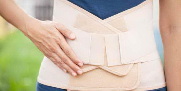 Пояс для поясницы при остеохондрозе: показания и полезные свойства