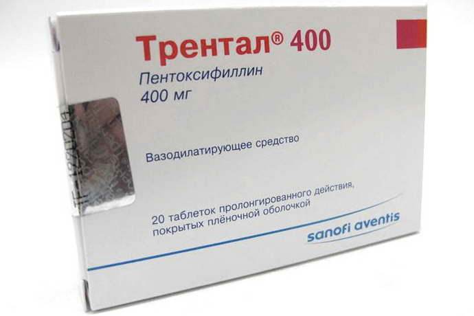 Трентал сосудорасширяющие препараты при остеохондрозе шеи