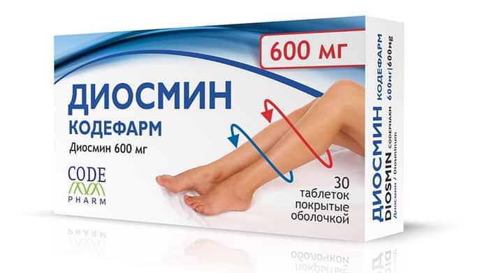 диосмин при судорогах в ногах