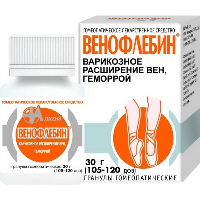 венофлебин при судорогах в ногах