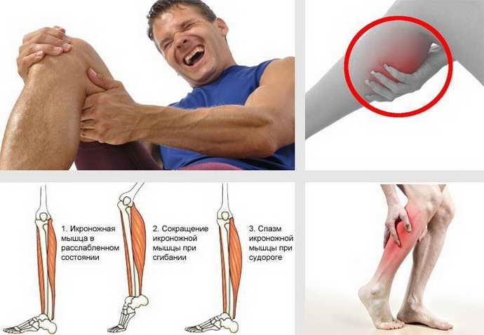 сводит мышцы после тренировки в чем причина