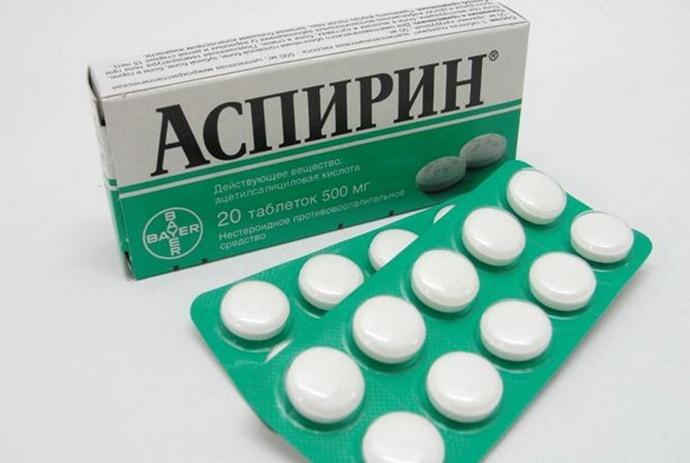 Аспирин при радикулите